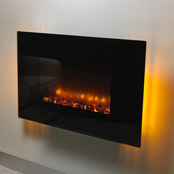 Orial Fires Robina Flat Hang on the Wall Electric Fire