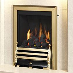 Bemodern Classic Slimline Open Fronted Gas Fire