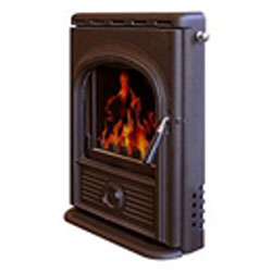 Alpha Stoves Inset Multifuel Woodburning Stove