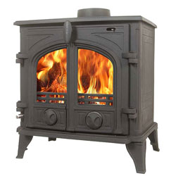 Alpine Victoria Multifuel Wood Burning Stove