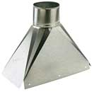 "Apex Flue Adaptor for 125mm (5"") Flue liner"