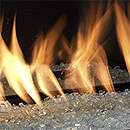 Apex Fires Glass Chippings