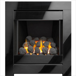 Apex Fires Lux Glass Full Depth Hearth Mounted Gas Fire