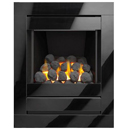 Apex Fires Lux Glass Full Depth 4 Sided Gas Fire