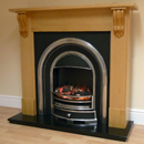 Beaucrest Bartley Electric Fireplace Suite