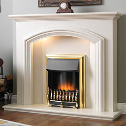 Flamerite Dalton Electric Fireplace Suite