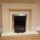 Beaucrest Danby Electric Fireplace Suite