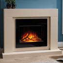 Beaucrest Gravity Electric Fireplace Suite