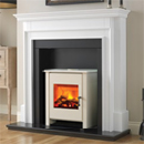 Beaucrest Jewel Freestanding Stove Electric Fireplace Suite