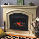 Beaucrest Mineola Electric Fireplace Suite
