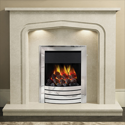 Bemodern Cassola Plus Fireplace Surround with Downlights