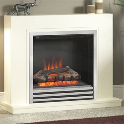 Bemodern Colby Electric Fireplace Suite