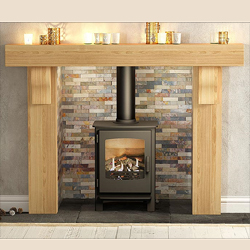 Bemodern Elicott Solid Oak Wooden Surround