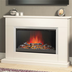 Bemodern Hansford Electric Fireplace Suite