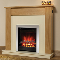 Bemodern Lyndhurst Eco Electric Fireplace Suite