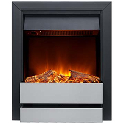 Burley Wardley 176R-BL-SS Electric Fire