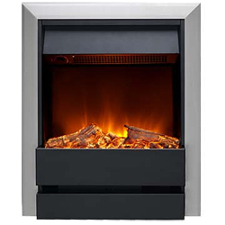 Burley Wardley 176R-SS-BL Electric Fire