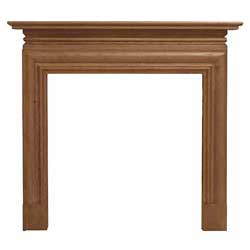 Carron Wessex 54 Solid Oak Surround