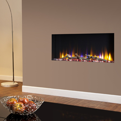 Celsi Ultiflame VR Elite Trimless Hole in Wall Electric Fire