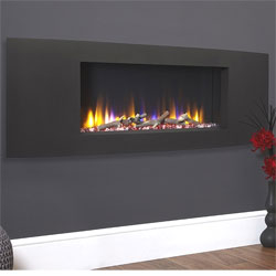 Celsi Ultiflame VR Vichy Black Hole in Wall Electric Fire