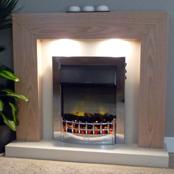 Delta Fireplaces Marton Electric Suite
