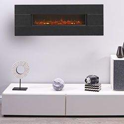 Eko Fires 1190 Granite Wall Hung Electric Fire