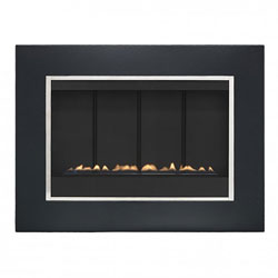 Eko Fires 5050 Black Flueless Gas Fire