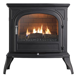 Eko Fires 6010 Flueless Black Gas Stove