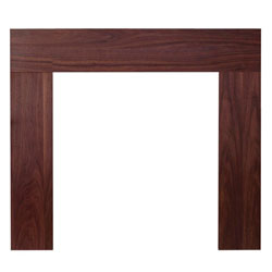 Eko Fires 7080 Sidmouth 46 Walnut Wooden Fireplace Surround