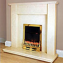 Inferno Fires Baltimore Marble Fireplace