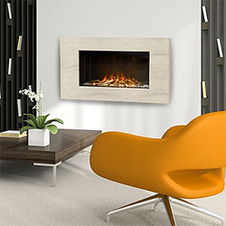 Europa Fires Calvi Calico Electric Fire