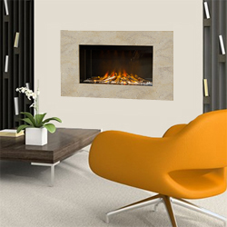 Europa Fires Calvi Seashell Electric Fire