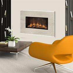 Europa Fires Loko Calico Wall Mounted Electric Fire