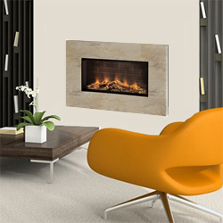 Europa Fires Loko Seashell Wall Mounted Electric Fire