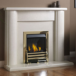 Pureglow Marlbrook 48 Slimline Gas Fireplace Suite