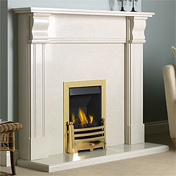 Pureglow Knighton Full Depth Gas Fireplace Suite