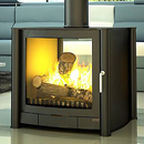 Firebelly FB2 Double Sided Gas Stove