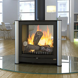 Firebelly FB3 Double Sided Wood Burning Stove
