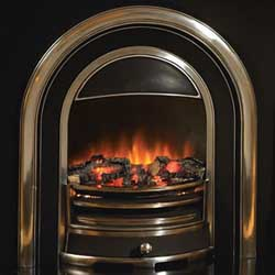 Flamerite Tennyson Cast Back Electric Fire