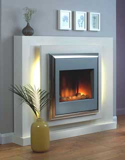 Flamerite Lucca Freestanding Electric Fire Suite