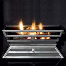 Gallery Cantilever Gas Basket Fire