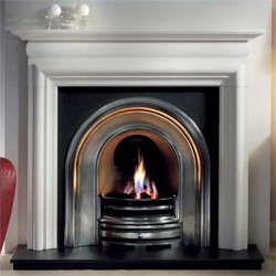 Gallery Crown Highlight Cast Iron Arch Gas Package