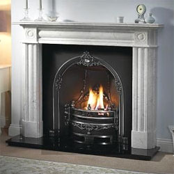Gallery Gloucester Cast Iron Arch Solid Fuel Package