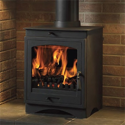 Gallery Helios 8 Cleanburn Multifuel Wood Burning Stove