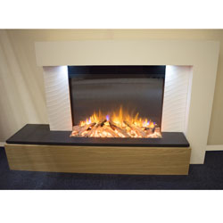 Garland Fires Apollo Electric Fireplace Suite