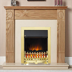 Garland Fires Faro Electric Fireplace Suite