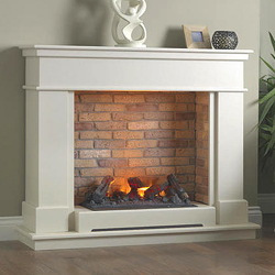 Garland Fires Harper Electric Fireplace Suite