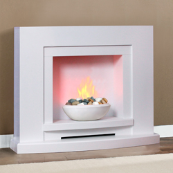 Garland Fires Solaris Electric Fireplace Suite