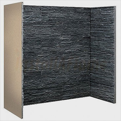 Fire Depot Chamber Graphite Slate Waterfall