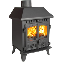 Hunter Stoves Herald 4 Multi Fuel Wood Burning Stove